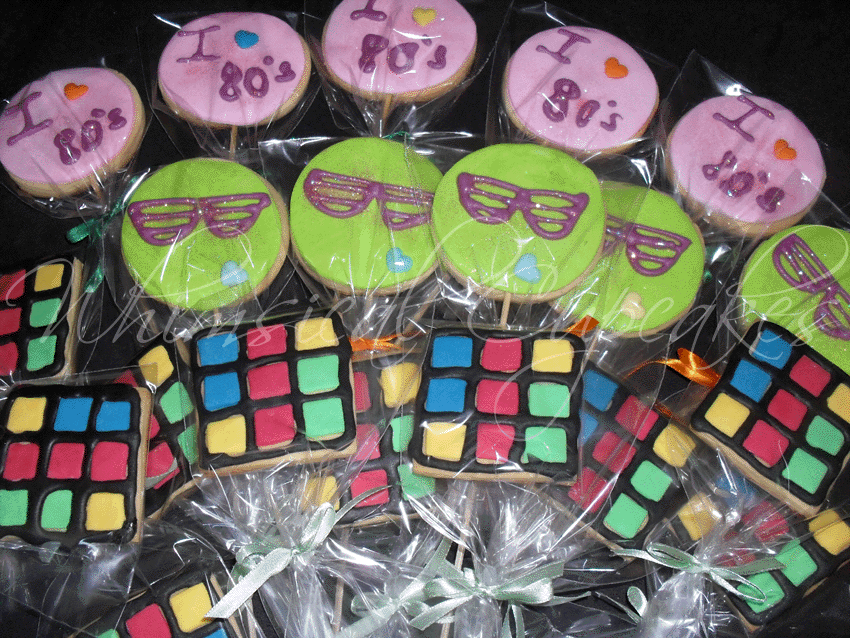 1980s-themed-parties-cookies