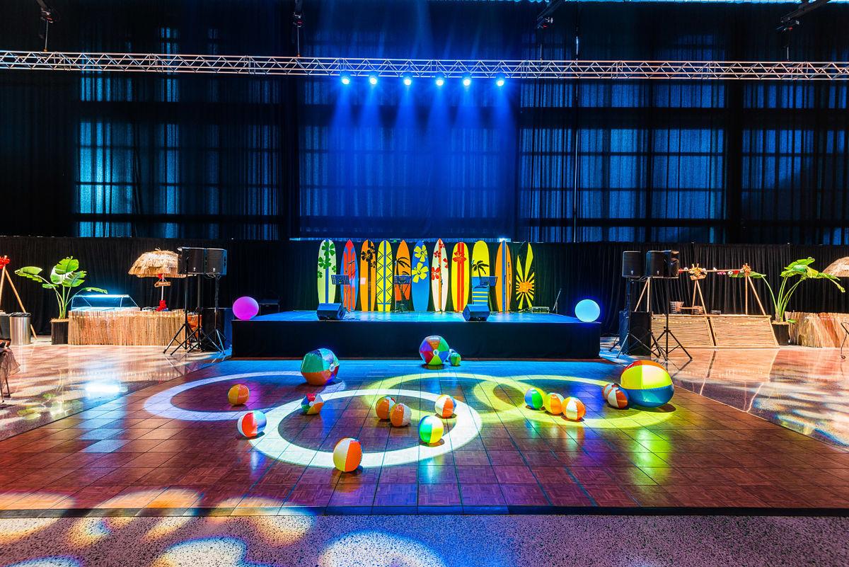 Event smart schoolball for Decor 4 hire